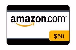$50 Amazon.com Gift Card (ends 10/01)
