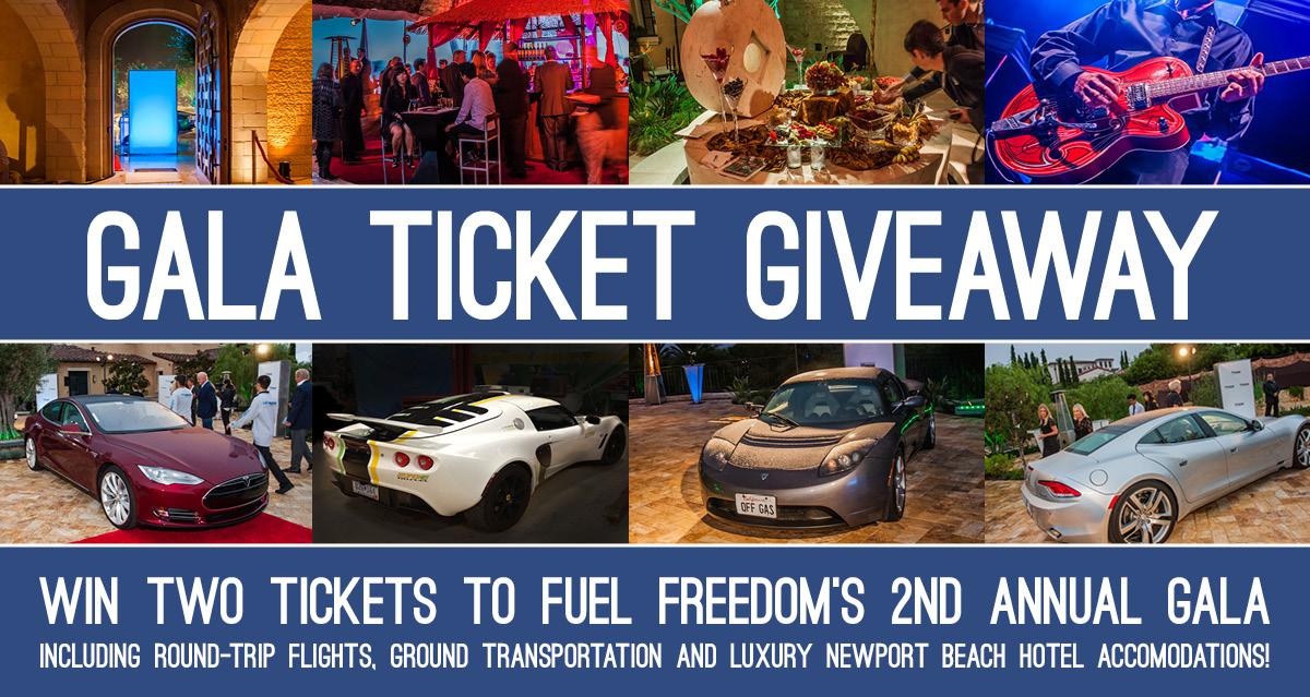 Fuel Freedom California Gala Giveaway