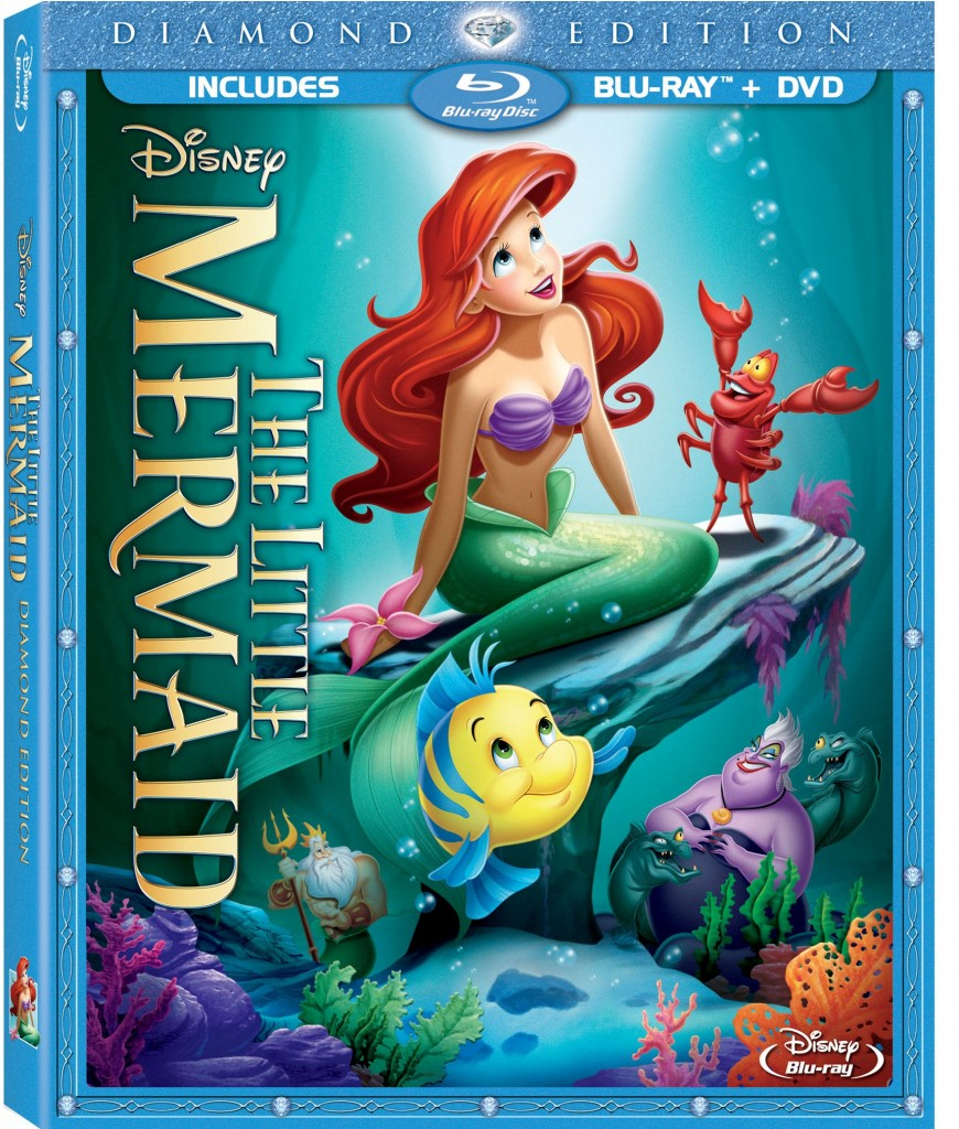 Disney's Little Mermaid Diamond Edition DVD/Blu-Ray 9/29