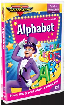 Rock N Learn Alphabet DVD 9/30