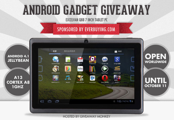 Android Tablet PC Giveaway