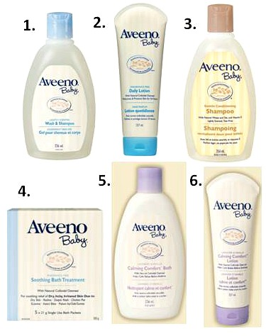 Win 1 of 3 Aveeno Baby Care Packages, Canada Only, 9/27