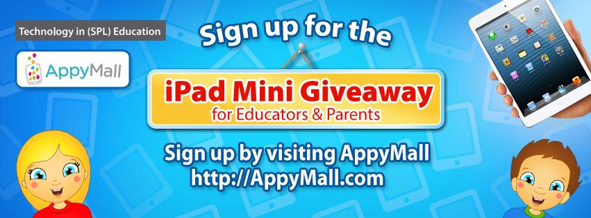 iPad Mini Giveaway @AppyMall
