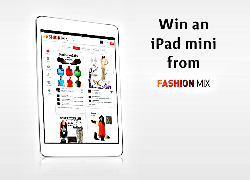 Win an iPad Mini from FashionMix