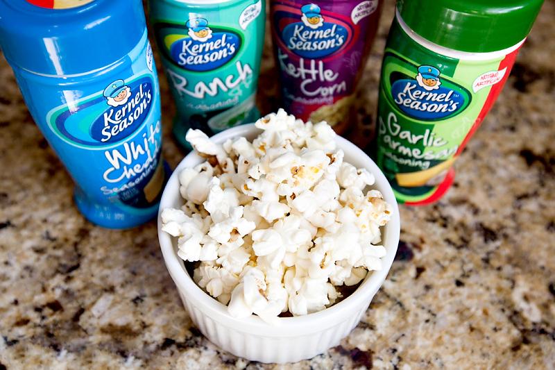 Kernel Seasons Popcorn Seasonings and Popping Kit!