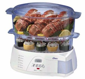 Win Two Tiered Food Steamer