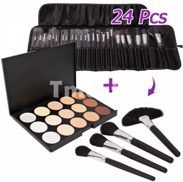 Tmart.com 24 Piece Makeup Brush Set Giveaway