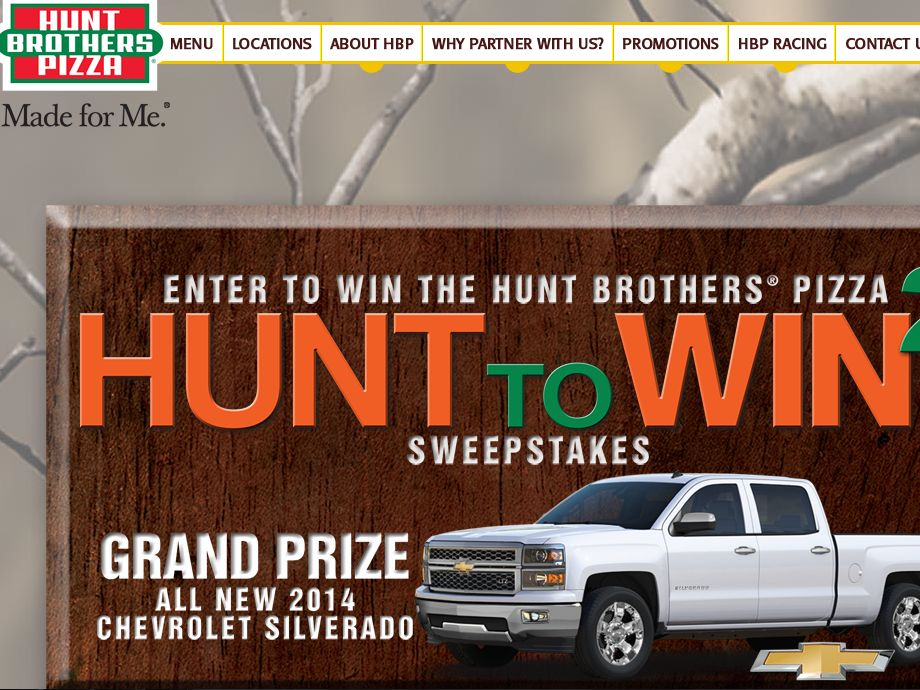 """Hunt to Win 2"" Sweepstakes"