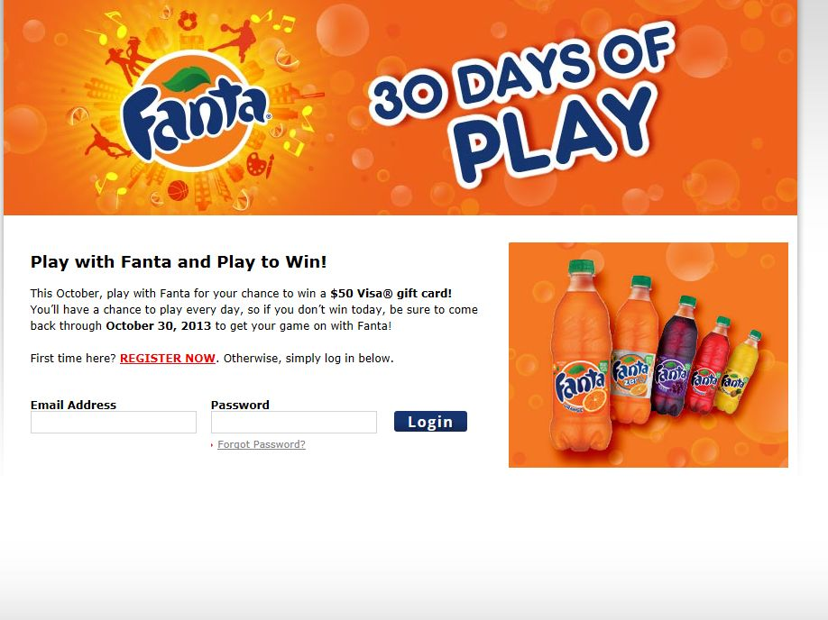 30 Days of Play Sweepstakes