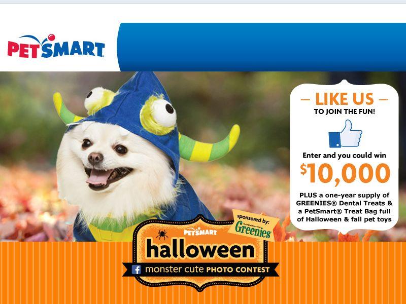 """PetSmart """"Monster Cute"""" Sweepstakes"""