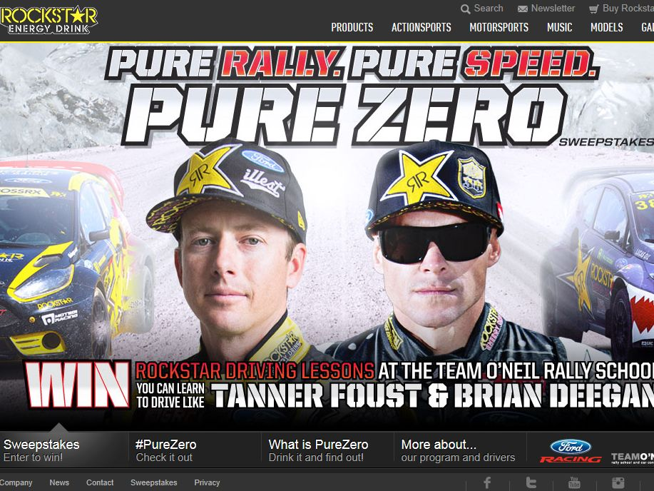 Rockstar Energy Pure Zero National Sweepstakes