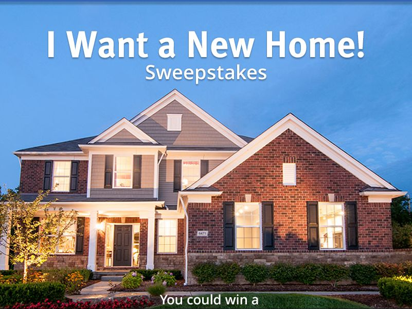 Zillow & Pulte Homes I Want A New Home! Sweepstakes