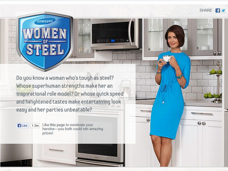 Samsung Women of Steel Contest