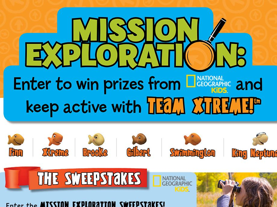 Mission Exploration Sweepstakes