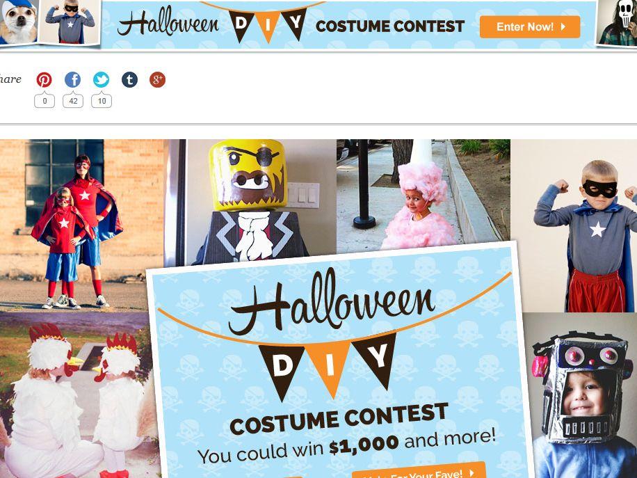 iVillage Halloween DIY Costume Contest