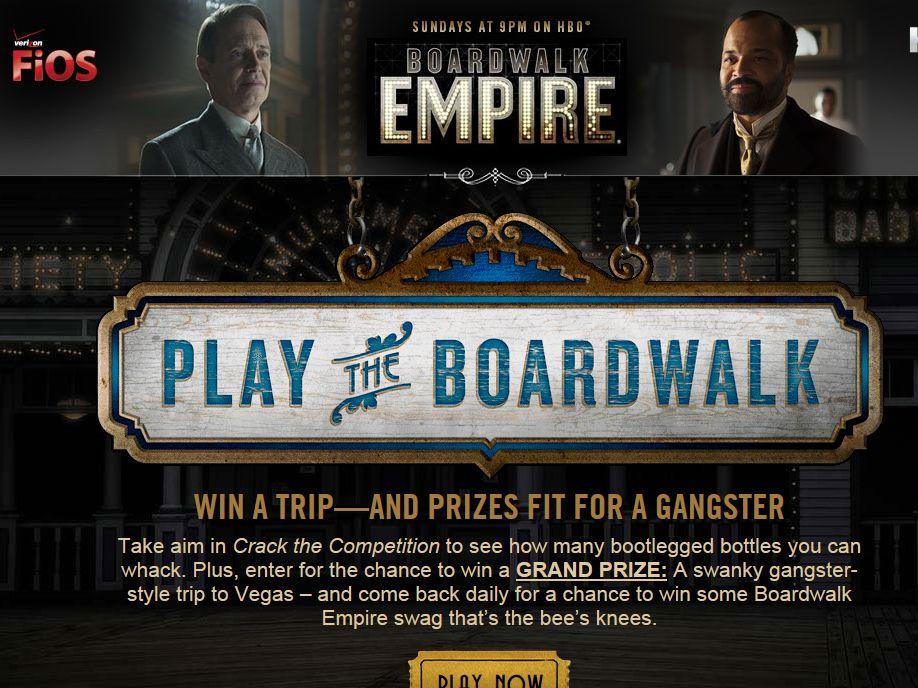 Verizon & HBO Play the Boardwalk Sweepstakes