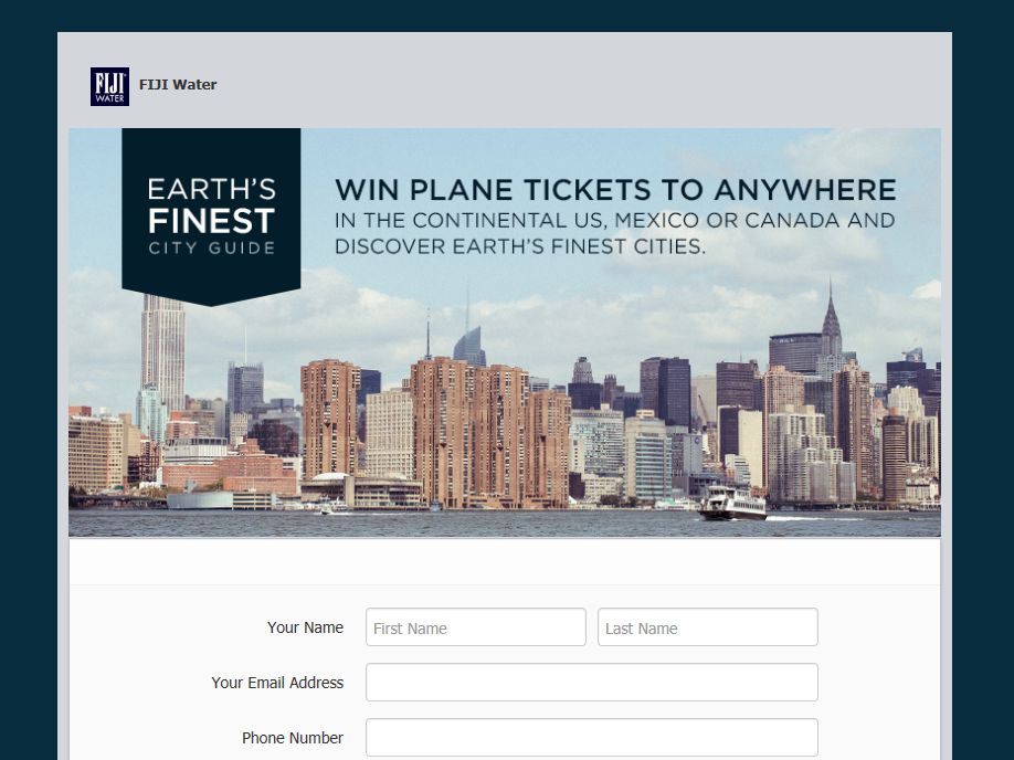 Plane Tickets Giveaway