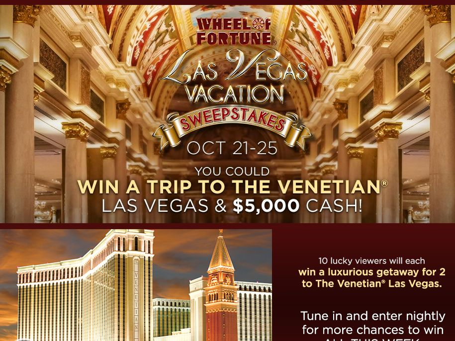 Las Vegas Vacation Sweepstakes