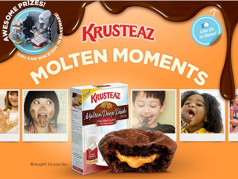 Krusteaz Molten Moments Capture Contest