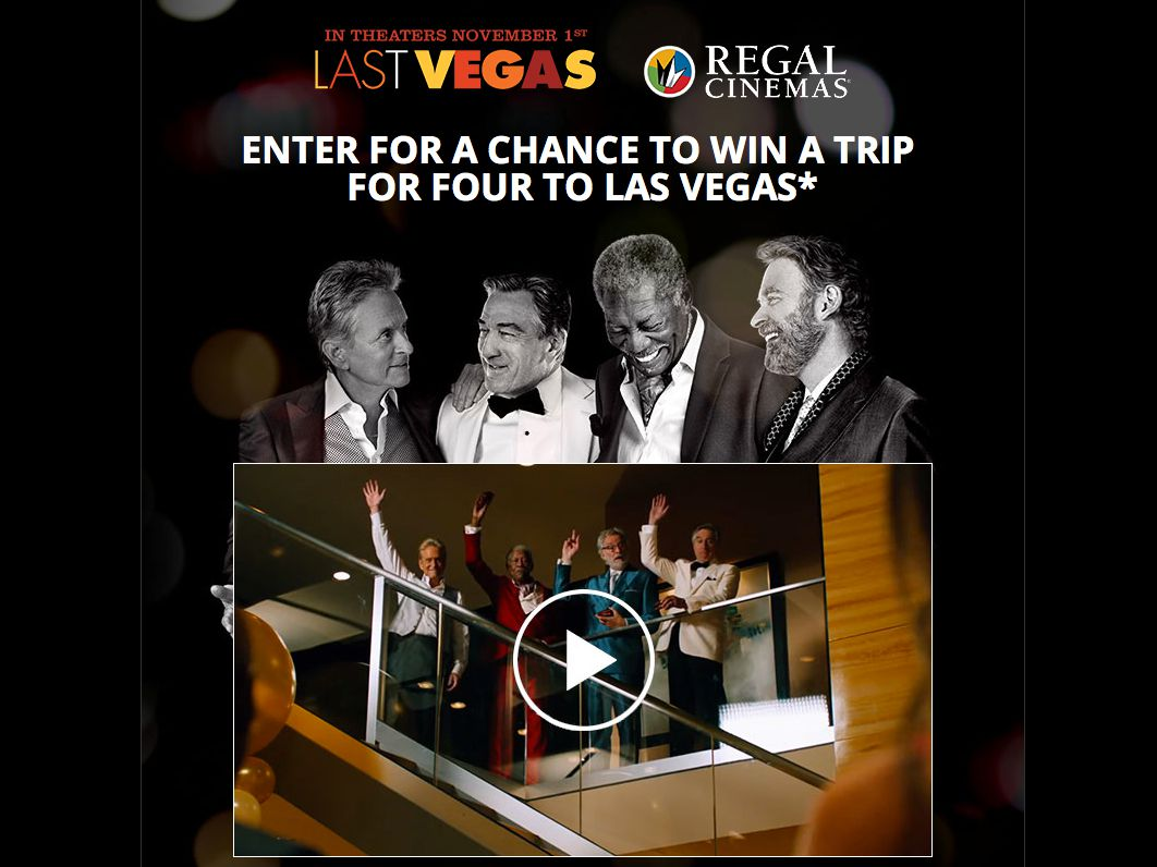 regal sweepstakes last vegas regal sweepstakes 9559