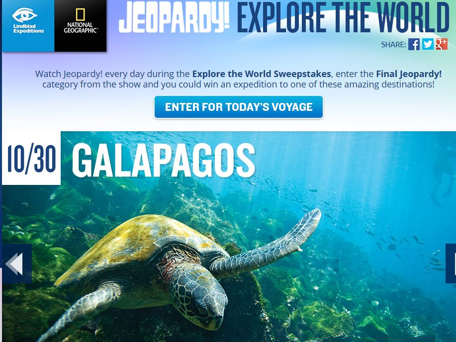 Explore the World Sweepstakes