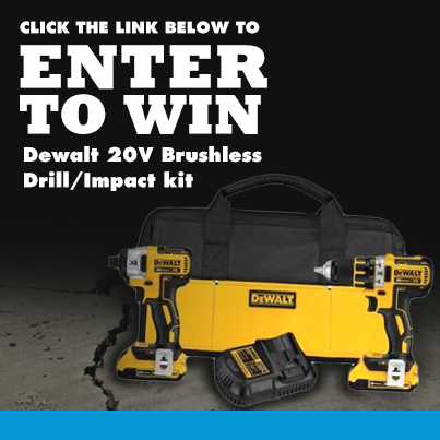 Industrial Supply Dewalt Drill Kit Giveaway