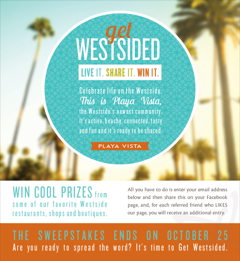 Get Westsided! Sweepstakes