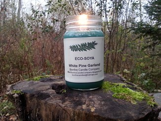 Win a 16 Ounce Eco-Soya Candle From The Bonfire Candle Company