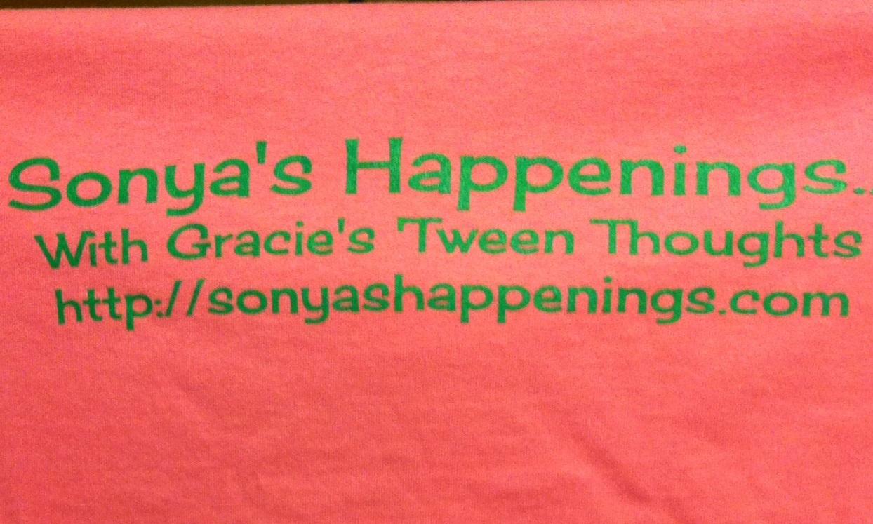 Sonya's Happenings… WhoopTee Giveaway