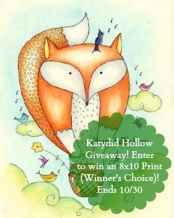Art Print from Katydid Hollow (Winner's Choice!)