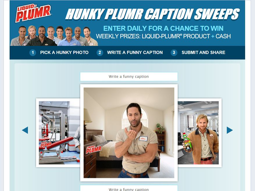 Liquid-Plumr Caption This Sweepstakes
