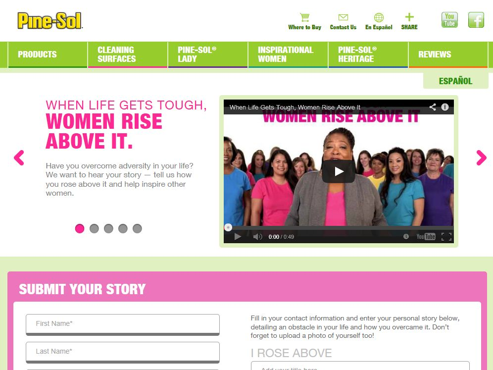 Pine Sol When Life Gets Tough, Women Rise Above It Sweepstakes