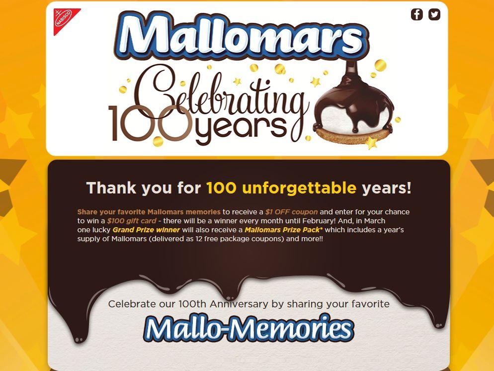 Mallomars Mallo-Memories Sweepstakes