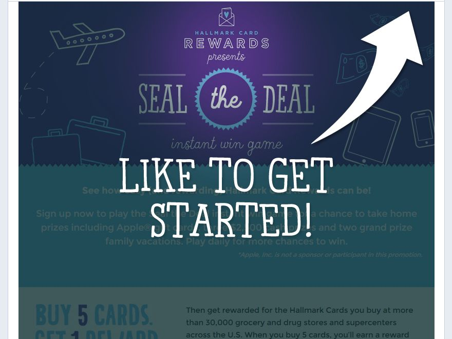 Hallmark Seal the Deal Sweepstakes
