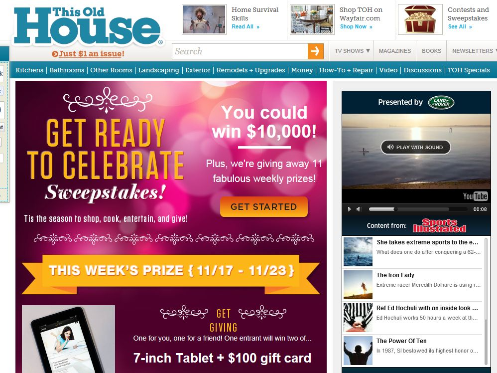 Get Ready to Celebrate Sweepstakes