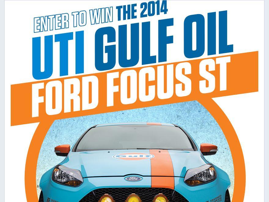2014 UTI Auto Sweepstakes