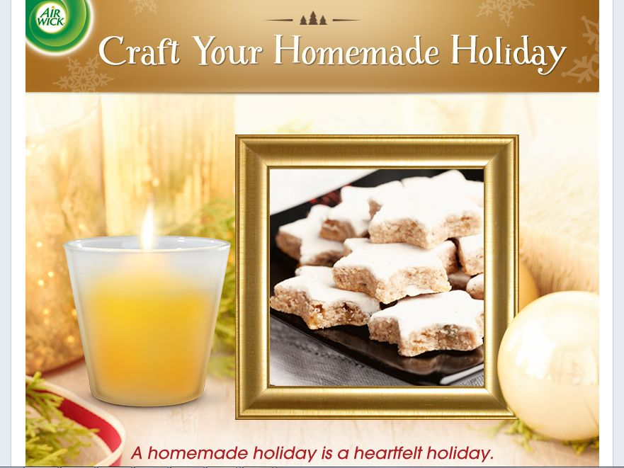 Air Wick Craft Your Homemade Holiday Sweepstakes