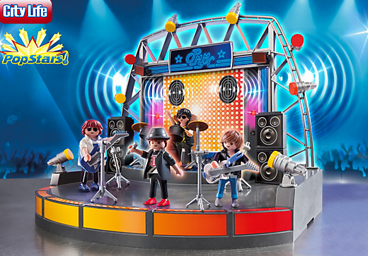 Playmobil PopStar Stage, US, 11/12