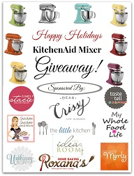 KitchenAid Stand Mixer $349 Value (ends 12/03)