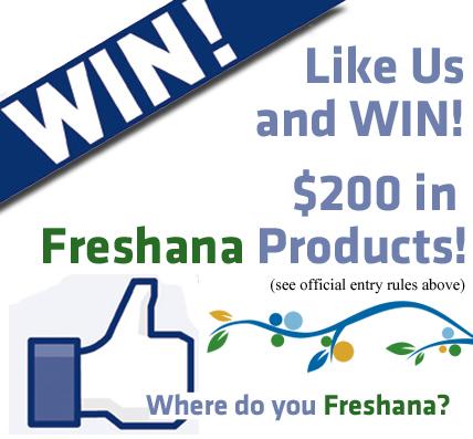 "$200 Value! The ""Where Do You Freshana?"" Like & Win Contest!"
