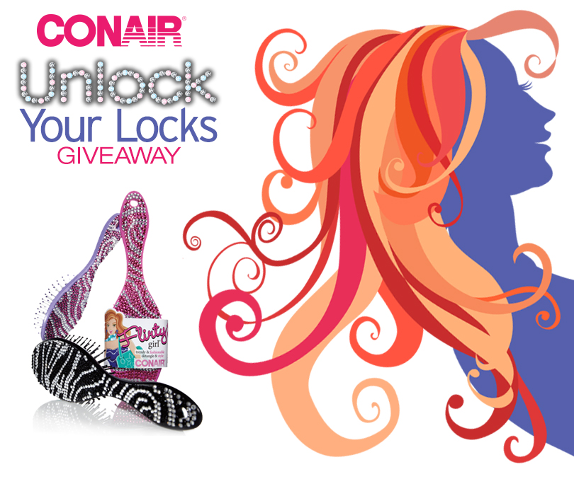 "Conair's ""Unlock Your Locks"" Giveaway"