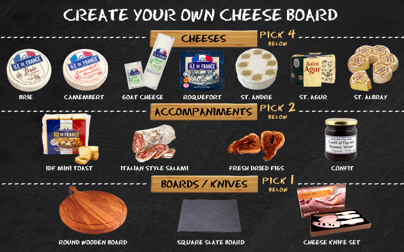 Win Your Own custom Cheese Board