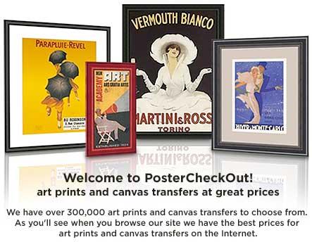 PosterCheckOut $100 Art Giveaway