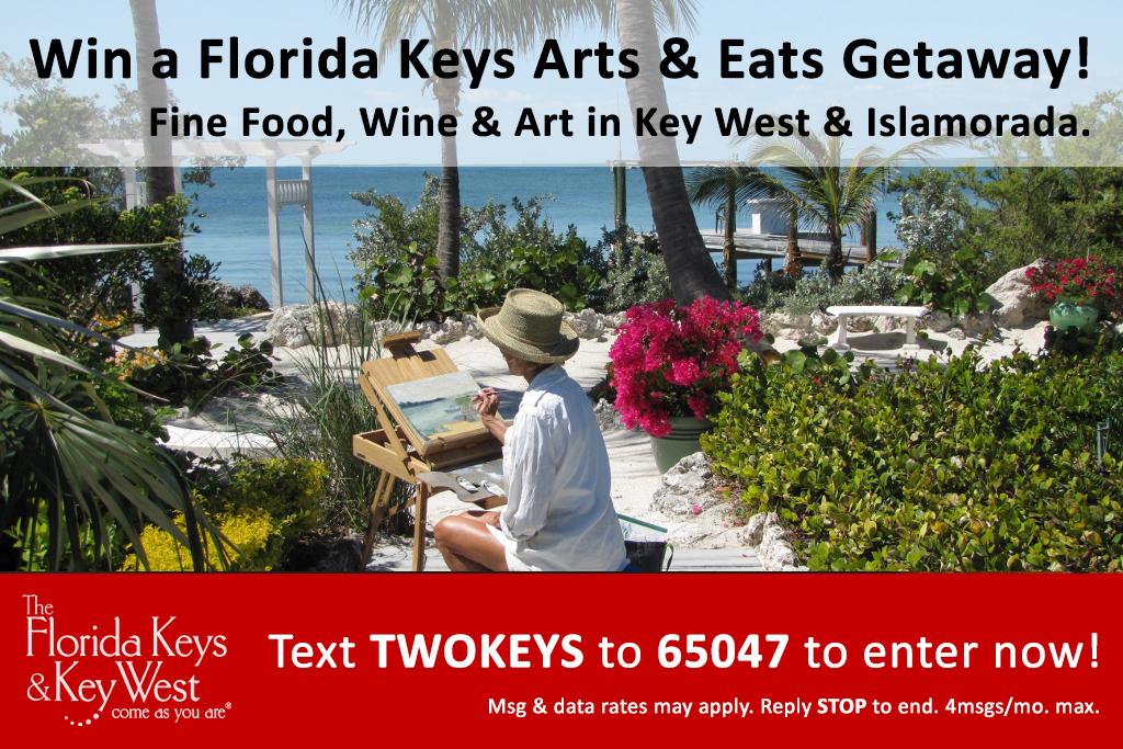 """Florida Keys Arts & Eats Getaway"" Sweepstakes"