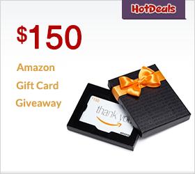 $150 Amazon Gift Card Giveaway
