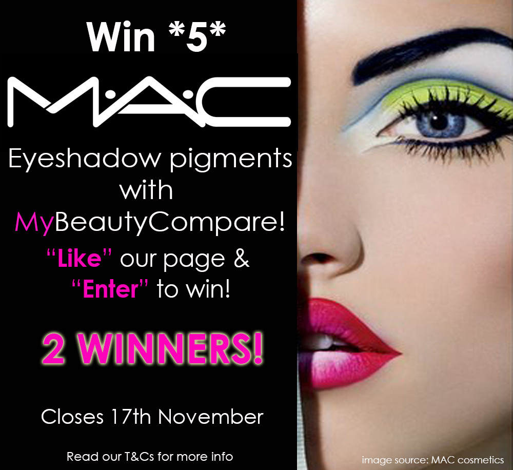 Win 5 MAC Pigments!