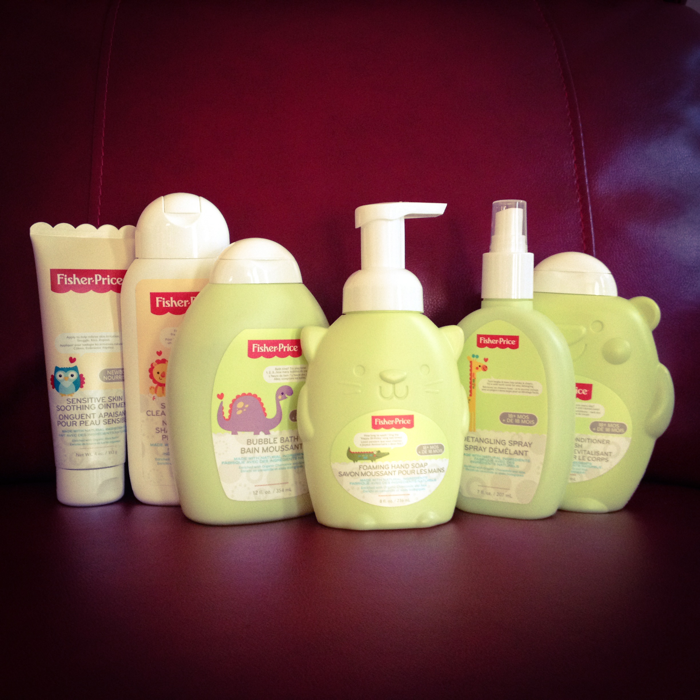 Fisher-Price Bath & Body Product Line
