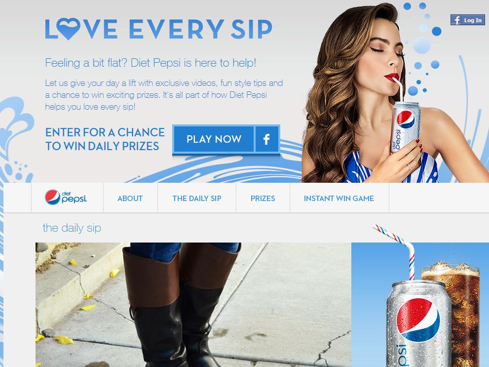 Diet Pepsi Football Sweepstakes
