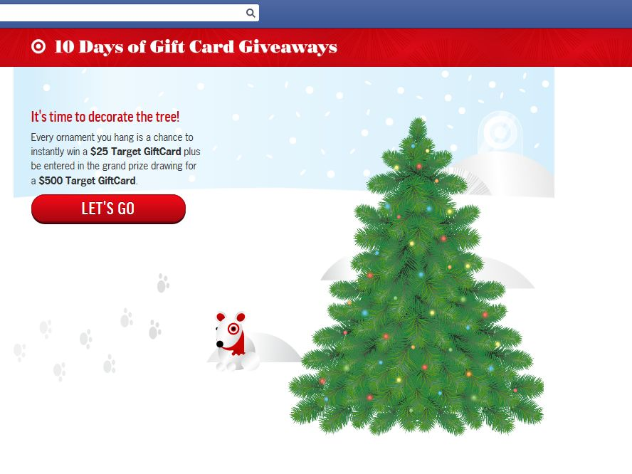 Target's 10 Days of Gift Card Giveaways