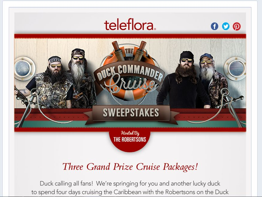 The Duck Commander Cruise Sweepstakes